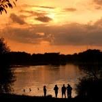 Lake at sunset 2 — Stock Photo #29751145