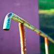 Old handrail — Stock Photo