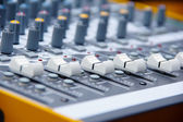 Audio console 4 — Stock Photo