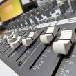 Audio console 8 — Stock Photo