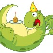 Stock Photo: Birthday of a dragon.