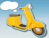 Bellissimo scooter — Foto Stock