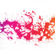 Color paint splashes - Foto de Stock