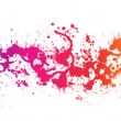 Stock Photo: color paint splashes