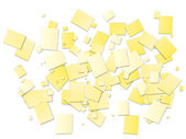 Abstract yellow square background — Stock Photo