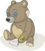Homeless bear — Stock Photo