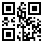 QR code with arrows — Stock Photo