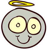 Smiley doodle-07 — Vector de stock