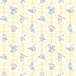 Baby Seamless Wallpaper — Stock Vector