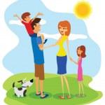 Постер, плакат: Family day
