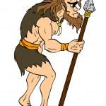 Ancient Man — Stock Vector #50405421