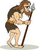 古代の人 — ストックベクタ