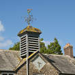 Stock Photo: Weathervane and Clocktower