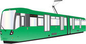 Tram — Stock Vector