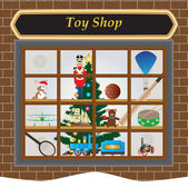 Toy Shop — Stock Vector