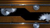 Teknik makina metal arka plan — Stok fotoğraf