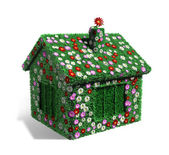 Ecology house from grass — Stock Photo