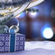 Happy New Year and Merry Christmas composition — Stock Photo
