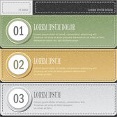 Set modern banners or template of infographics in pastel colors — Stock Vector