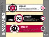 Nowoczesne banery lub szablon infografika — Wektor stockowy