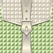 Cтоковый вектор: Background with geometric seamless pattern belt fastener