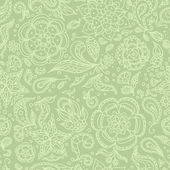 Seamless abstract floral pattern or olive background — Stock Vector