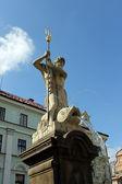Fountain of Neptune, Liberec — Foto de Stock