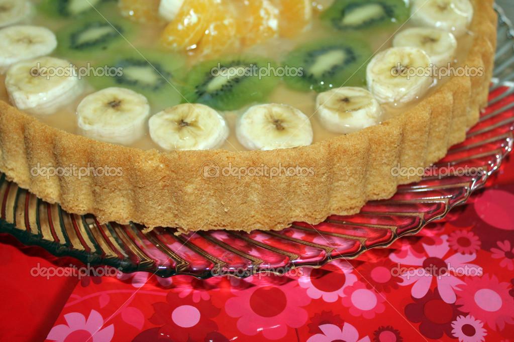 Kiwi banane kuchen