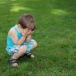 Little boy crying — Stock Photo #22123769