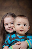 Brother & sister — Foto Stock
