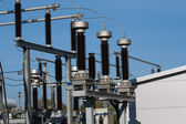 Power sub station — Stock Photo