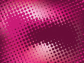 Pink abstract background with halftone — Stock Vector