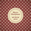 Vintage christmas card background — Stock Vector #16211747