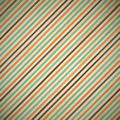 Grunge vintage retro background with stripes — Stock Vector