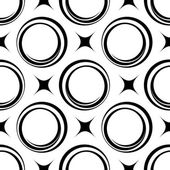 Seamless pattern with circles, vector illustration — Stock Vector