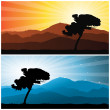 Landscape — Stock Vector