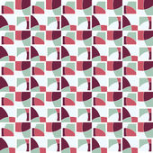 Seamless retro pattern with squares — Stock Vector