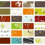Elegant business cards set — Stock Vector #5945604