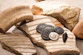 Ancient coins — Foto de Stock