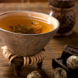 Hot tea still-life — Stock Photo #13106382