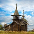 Old Saint Michael wooden church - Stock Photo