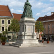 Maria Theresia landmark - Stock Photo