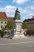 Maria Theresia landmark — Stock Photo