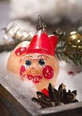 Oude clown speelgoed — Stockfoto