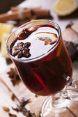 Mulled wine still-life — Stock Photo