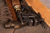 Antiguas herramientas — Foto de Stock