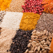 Stock Photo: Set of various spices