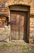 Old door — Foto Stock
