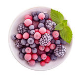 Frozen berry isolated — Stock Photo
