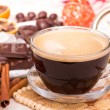 Coffee cup and sweets — Stock Photo #32766041
